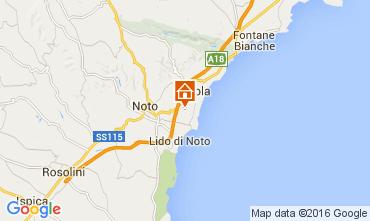 Map Noto Villa 105250