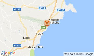 Map Avola Villa 107138