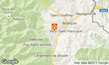 Map Briançon Chalet 33866