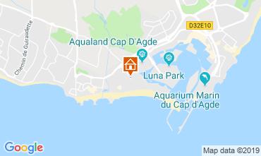 Map Agde Apartment 120034