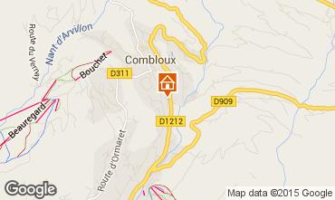 Map Combloux Chalet 896