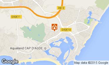 Map Cap d'Agde House 100118