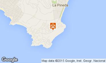 Map La Pineda Apartment 92971