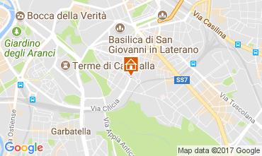 Map Rome Apartment 108438