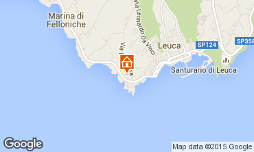 Map Santa Maria di Leuca Apartment 79689