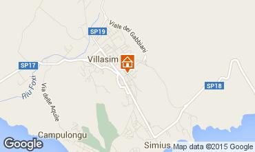 Map Villasimius Apartment 94995
