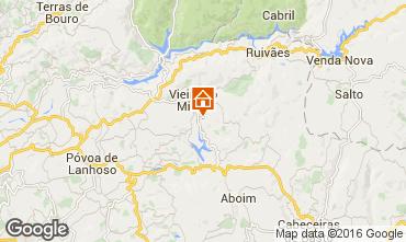 Map Vieira do Minho Vacation rental 38989