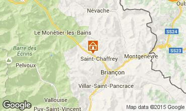 Map Serre Chevalier Apartment 66394