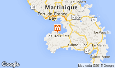 Map Trois Ilets Apartment 100285