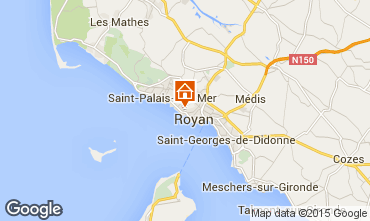 Map Royan Villa 6770