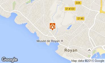 Map Royan Villa 6770