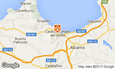 Map Castellammare del Golfo Bed and breakfast 101261
