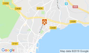 Map La Ciotat Villa 110277