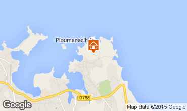 Map Perros-Guirec House 64642