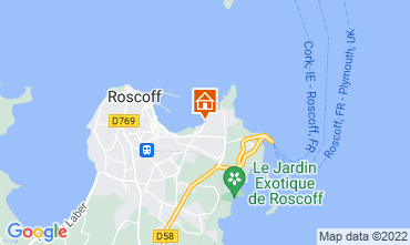 Map Roscoff Apartment 69746