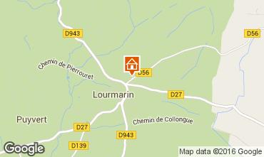Map Lourmarin Villa 102991