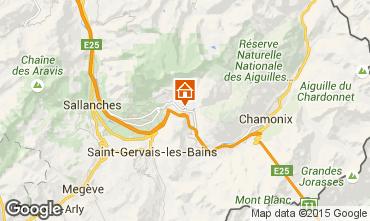 Map Chamonix Mont-Blanc Apartment 689