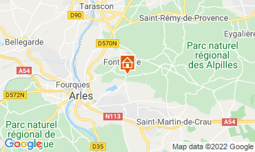 Map Fontvieille Vacation rental 118591