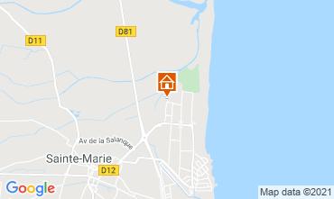 Map Sainte Marie la Mer Villa 9262