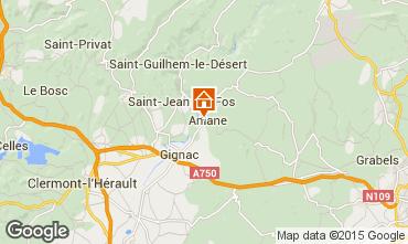 Map Saint Guilhem le Désert House 28312
