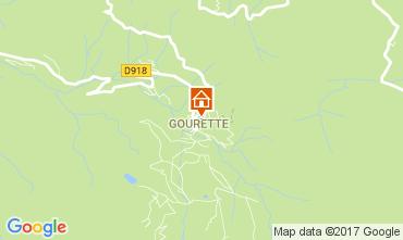 Map Gourette One-room apartment 112189