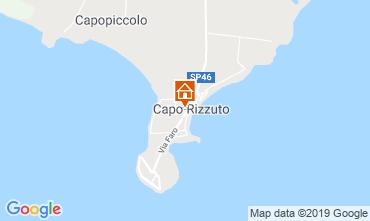 Map Isola di Capo Rizzuto Apartment 118989