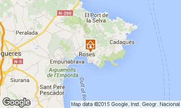 Map Rosas Villa 80944