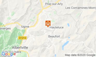Map Les Saisies Apartment 23257