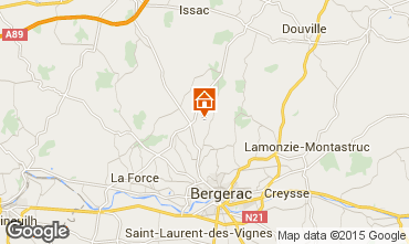 Map Bergerac House 30713