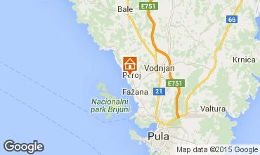 Map Peroj Apartment 93896