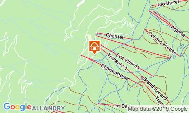 Map Les Arcs Apartment 116604