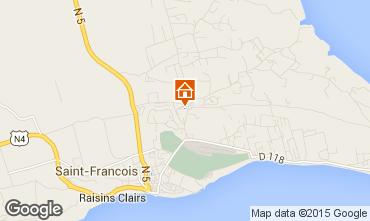 Map Saint Francois One-room apartment 94193