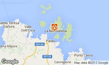 Map La Maddalena Apartment 77763