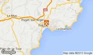 Map Fréjus Apartment 93863