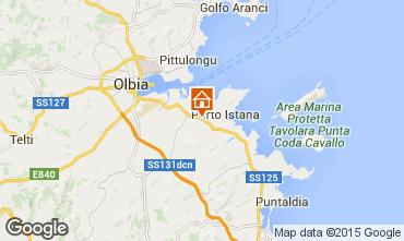 Map Olbia Apartment 35693