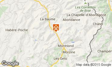Map Morzine Apartment 85400