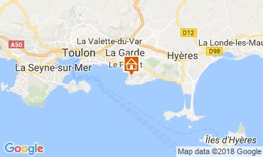 Map Hyères House 105230