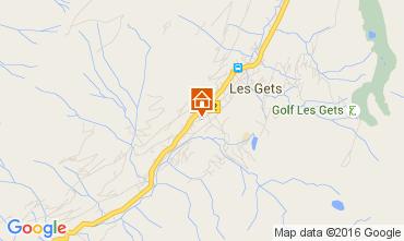 Map Les Gets Apartment 105424