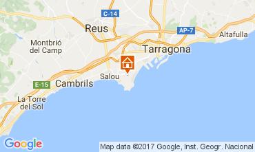 Map Salou Villa 107778