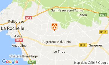 Map La Rochelle Unusual accommodation 112463