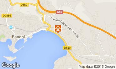 Map Bandol Apartment 8604