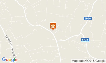 Map Ostuni Villa 115529