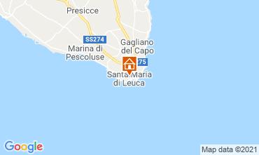 Map Santa Maria di Leuca One-room apartment 70873