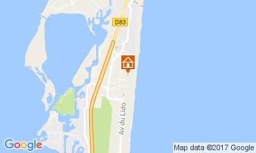 Map Le Barcares House 103226