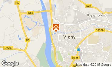 Map Vichy Apartment 92716
