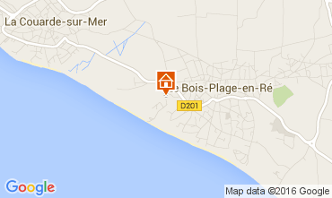 Map Le Bois-Plage-en-Ré House 15077