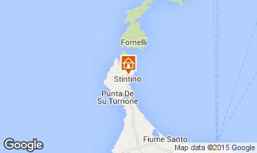 Map Stintino One-room apartment 46170