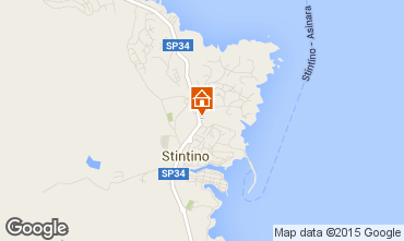 Map Stintino One-room apartment 46170