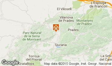 Map Tarragona Vacation rental 42191