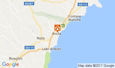 Map Avola Apartment 109647
